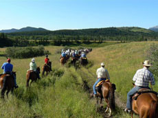 Friends of the Bar U Ranch Trail Ride